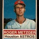 HOUSTON ASTROS ROGER METZGER 1976 HOSTESS # 67
