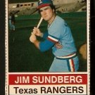 TEXAS RANGERS JIM SUNDBERG 1976 HOSTESS # 68