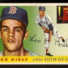 BOSTON RED SOX LEO KIELY 1955 TOPPS # 36 VG+