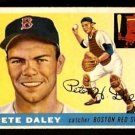 BOSTON RED SOX PETE DALEY 1955 TOPPS # 206 EX