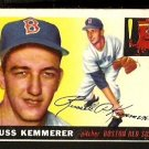 BOSTON RED SOX RUSS KEMMERER 1955 TOPPS # 18 VG