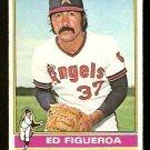 CALIFORNIA ANGELS ED FIGUEROA 1976 TOPPS # 27 Good