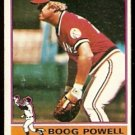 CLEVELAND INDIANS BOOG POWELL 1976 TOPPS # 45 VG