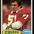 KANSAS CITY CHIEFS JIM LYNCH 1975 TOPPS # 254 NR MT