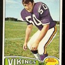 MINNESOTA VIKINGS JEFF SIEMON 1975 TOPPS # 268 EX MT