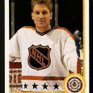 ST LOUIS BLUES BRETT HULL ALL STAR 1990 UPPER DECK # 474