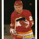 CALGARY FLAMES ROBERT REICHEL ROOKIE CARD RC 1990 UPPER DECK # 533