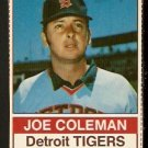 DETROIT TIGERS JOE COLEMAN 1976 HOSTESS # 89