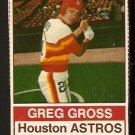 HOUSTON ASTROS GREG GROSS 1976 HOSTESS # 90