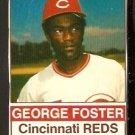 CINCINNATI REDS GEORGE FOSTER 1976 HOSTESS # 106