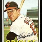 BALTIMORE ORIOLES WOODY HELD 1967 TOPPS # 251 NR MT