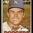 LOS ANGELES DODGERS JIM LEFEBVRE 1967 TOPPS # 260 Fair