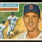 BOSTON RED SOX NORM ZAUCHIN 1956 TOPPS # 89 EX/EX MT