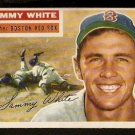 BOSTON RED SOX SAMMY WHITE 1956 TOPPS # 168 EX/EX MT