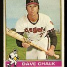 CALIFORNIA ANGELS DAVE CHALK 1976 TOPPS # 52 Good
