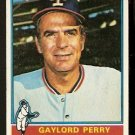 TEXAS RANGERS GAYLORD PERRY 1976 TOPPS # 55 VG