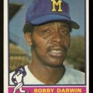 MILWAUKEE BREWERS BOBBY DARWIN 1976 TOPPS # 63 VG