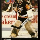 PITTSBURGH PENGUINS TOM BARRASSO 1992 PRO SET PUCK CANDY # 22