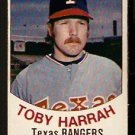 TEXAS RANGERS TOBY HARRAH 1977 HOSTESS TWINKIE # 37