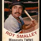 MINNESOTA TWINS ROY SMALLEY 1977 HOSTESS TWINKIE # 66