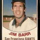 SAN FRANCISCO GIANTS JIM BARR 1977 HOSTESS # 83