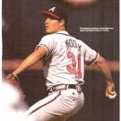ATLANTA BRAVES GREG MADDUX 1994 PINUP PHOTO