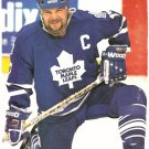 TORONTO MAPLE LEAFS WENDEL CLARK 1994 PINUP PHOTO