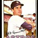 HOUSTON ASTROS BOB ASPROMONTE 1967 TOPPS # 274 EX