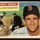 BOSTON RED SOX MICKEY VERNON 1956 TOPPS # 228 VG