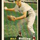 BOSTON RED SOX MILT BOLLING 1957 TOPPS # 131 EX/EM