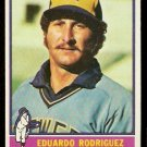 MILWAUKEE BREWERS EDUARDO RODRIGUEZ 1976 TOPPS # 92
