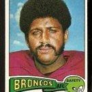 DENVER BRONCOS JOHN PITTS 1975 TOPPS # 409 EM