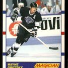 LOS ANGELES KINGS WAYNE GRETZKY MAGICIAN 1990 SCORE # 338