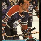 EDMONTON OILERS MARK MESSIER 1991 TOPPS STADIUM CLUB # 111