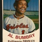 BALTIMORE ORIOLES AL BUMBRY 1977 HOSTESS # 90