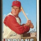 CLEVELAND INDIANS FRED WHITFIELD 1967 TOPPS # 275 EX+