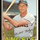 CALIFORNIA ANGELS BOB RODGERS 1967 TOPPS # 281 EX