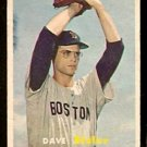 BOSTON RED SOX DAVE SISLER 1957 TOPPS # 56 VG+
