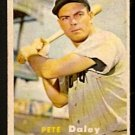 BOSTON RED SOX PETE DALEY 1957 TOPPS # 388 EX