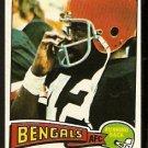 CINCINNATI BENGALS BOOBIE CLARK ROOKIE CARD RC 1975 TOPPS # 491 EX/EM