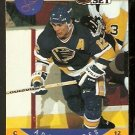 ST LOUIS BLUES ADAM OATES 1990 PRO SET # 269