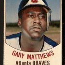 ATLANTA BRAVES GARY MATTHEWS 1977 HOSTESS # 142
