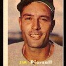 BOSTON RED SOX JIM PIERSALL 1957 TOPPS # 75 EX/EM
