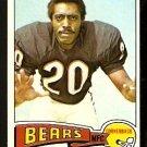 CHICAGO BEARS JOE TAYLOR 1975 TOPPS # 492 NR MT