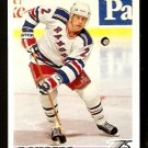 NEW YORK RANGERS BRIAN LEETCH 1991 UPPER DECK # 153