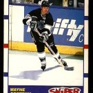 LOS ANGELES KINGS WAYNE GRETZKY SNIPER 1990 SCORE # 336