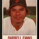 SAN FRANCISCO GIANTS DARRELL EVANS 1978 HOSTESS # 54