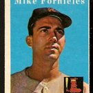 BOSTON RED SOX MIKE FORNIELES 1958 TOPPS # 361 NR MT