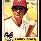 PHILADELPHIA PHILLIES LARRY BOWA 1976 TOPPS # 145 good