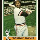 BALTIMORE ORIOLES TOMMY DAVIS 1976 TOPPS # 149 EX